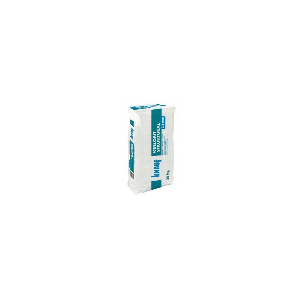 KBELORIT STRUKTURAL 2,5 - Strukturální šlechtěná omítka, 25kg