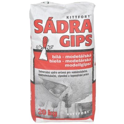 Sádra šedá, 1kg