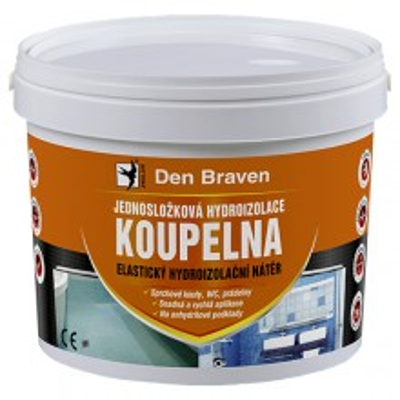 Jednosložková hydroizolace KOUPELNOVÁ - 2,5KG
