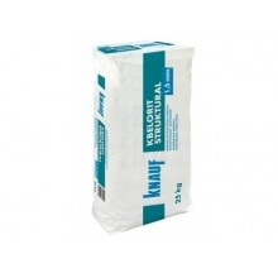 KBELORIT STRUKTURAL 1,5 - Strukturální šlechtěná omítka, 25kg