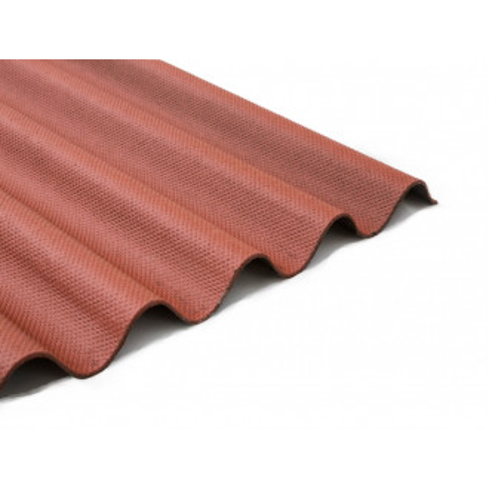Bitumenová vlnitá deska Guttapral červená