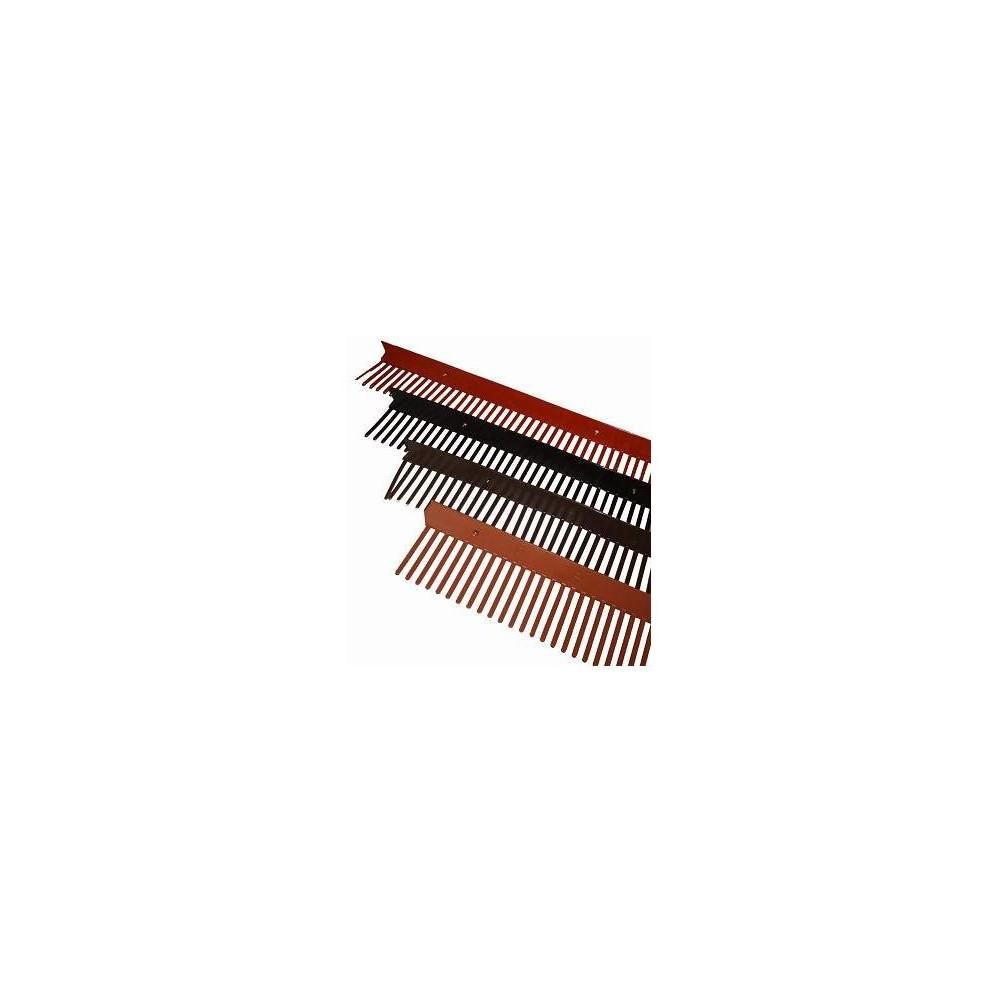 Ventilační mřížka černá 1M