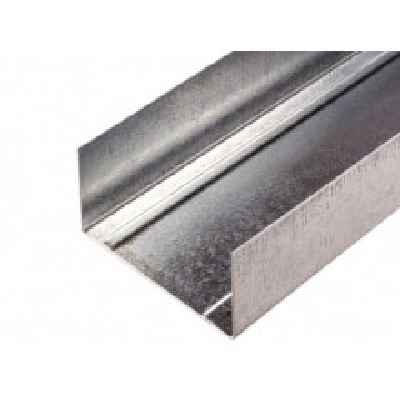 Ocelový výztužný profil UW 75 x 40 x 4000 mm