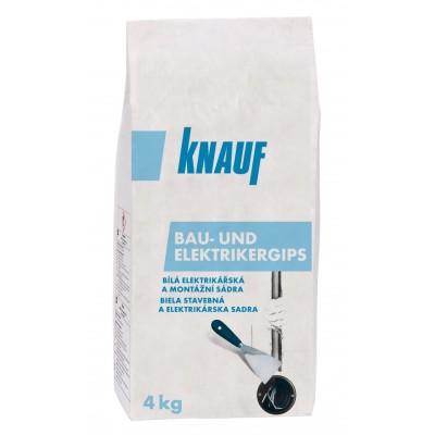 BAU- UND ELEKTRIKERGIPS/Elektrikářská a montážní sádra, 4kg