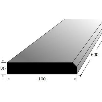 Práh dubový, 700/100mm