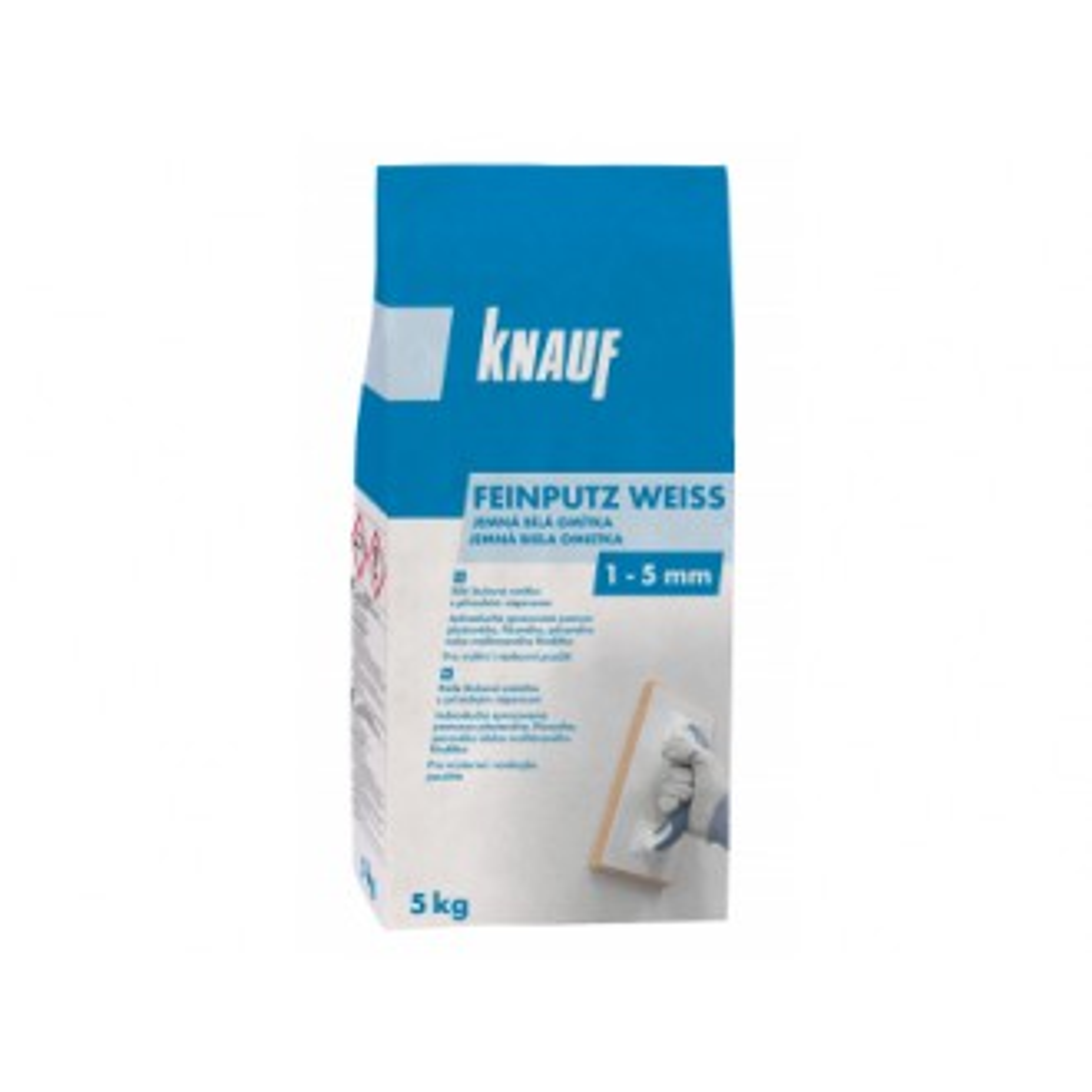 FEINPUTZ WEIß - Jemná bílá omítka, 5kg