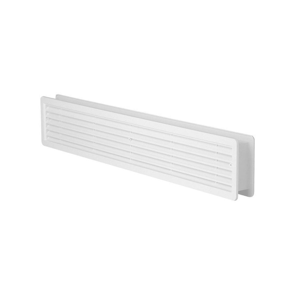 Větrací mřížka dveřní 500x90 bílá