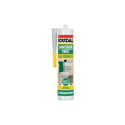 Soudal sanitární tmel bílý 310ml