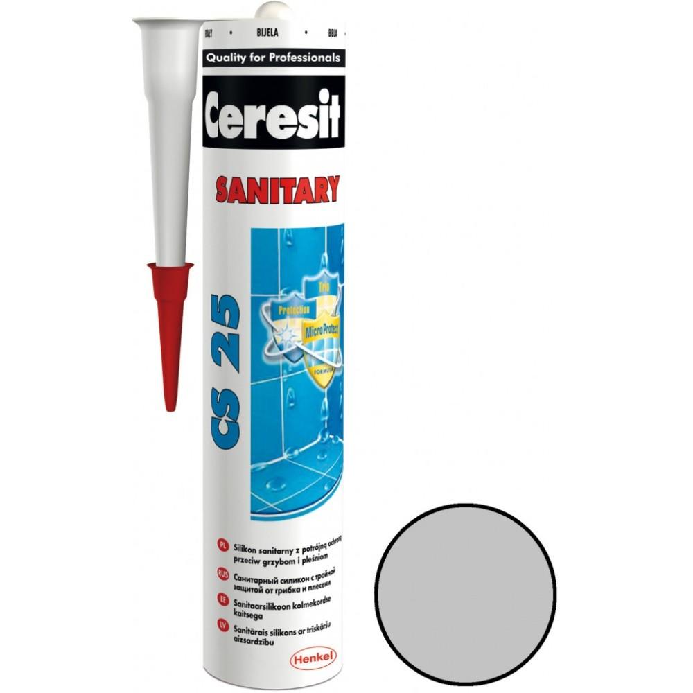 Ceresit sanitární silikon CS25 280ml bílá