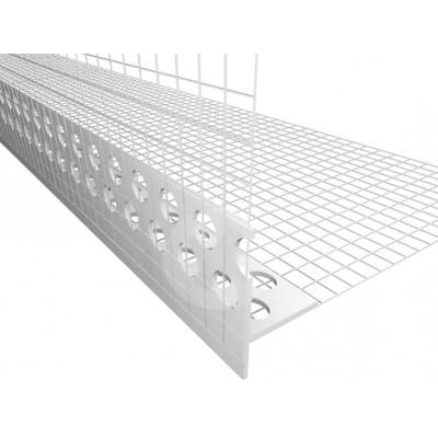 Ochranný roh PVC ohebný + síť, okapnička
