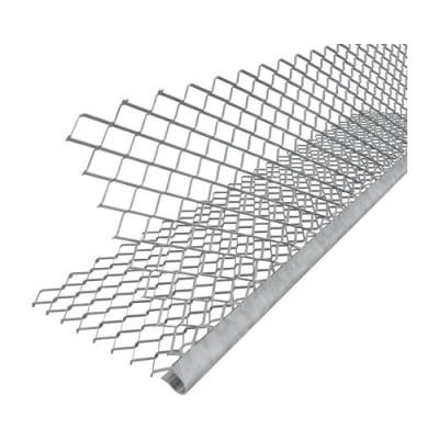 Lišta rphová PVC + síť 2.5m