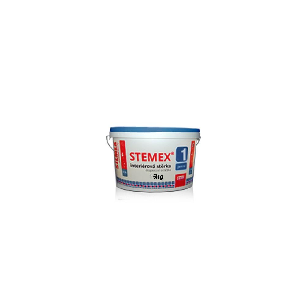 Interiérová disperzní stěrková omítka STEMEX® 1, 15kg