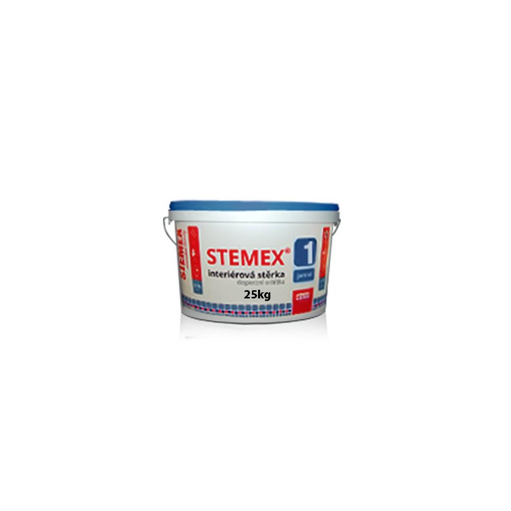 Interiérová disperzní stěrková omítka STEMEX® 1, 25kg