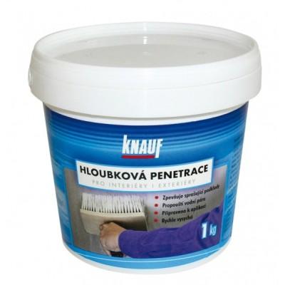 HLOUBKOVÁ PENETRACE-Zpevňující penetrační nátěr, 1 kg